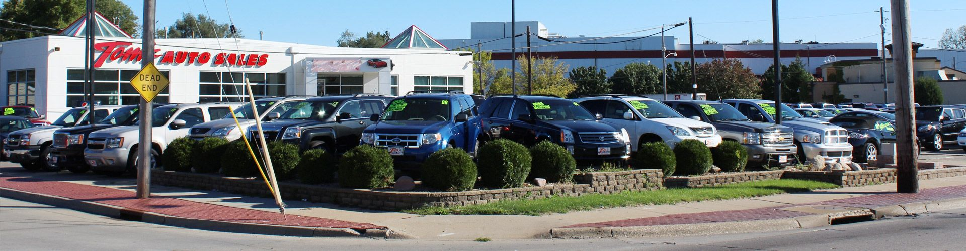 Car Dealerships In Des Moines >> Used Car, Truck, Van & SUV's Dealer in Des Moines, IA | Tom's Auto Sales